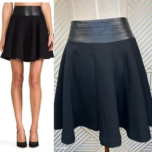 Milly Doubleweave Twill Delphine Circle Skirt